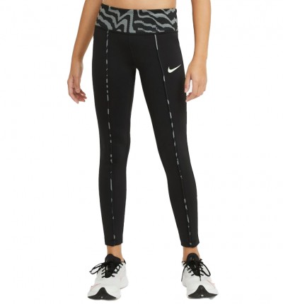 Mallas largas fitness_Niña_Nike One