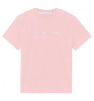 Camiseta M/c Casual_Mujer_CALVIN KLEIN Shrunken Institutional Tee