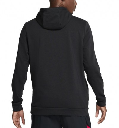 Hoodie Sudadera Capucha Fitness_Hombre_Nike Dri-fit