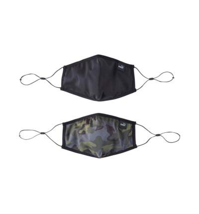 2 Mascarillas Casual_Unisex_Puma Core Face Mask Set Of 2