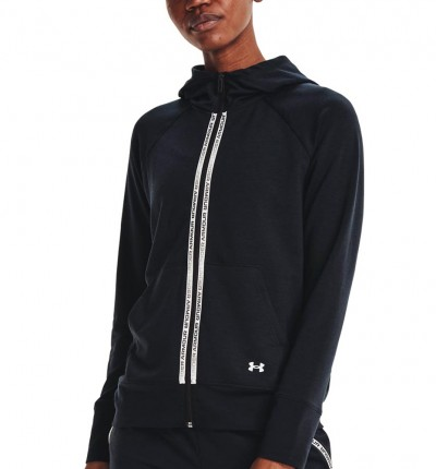 Chaqueta Fitness_Mujer_UNDER ARMOUR Rival Terry Taped Fz Hoodie