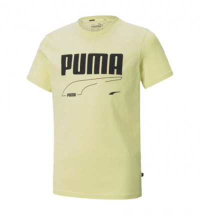 Camiseta M/c Casual_Niño_PUMA Rebel Tee B