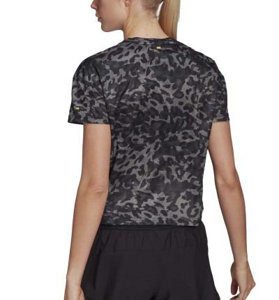 Camiseta M/c Running_Mujer_ADIDAS P.blue Tee