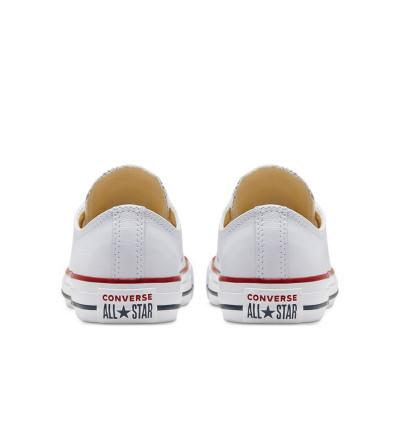 Zapatillas Casual_Unisex_CONVERSE Chuck Taylor Leather Blancas