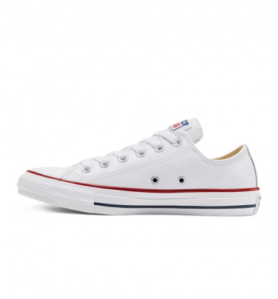Zapatillas Casual_Unisex_CONVERSE Chuck Taylor Leather Blancas