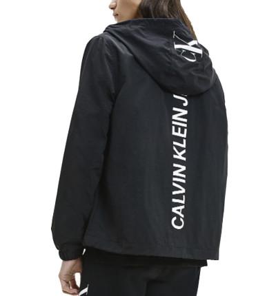Chaqueta Casual_Hombre_CALVIN KLEIN Ck Vertical Logo Windbreaker