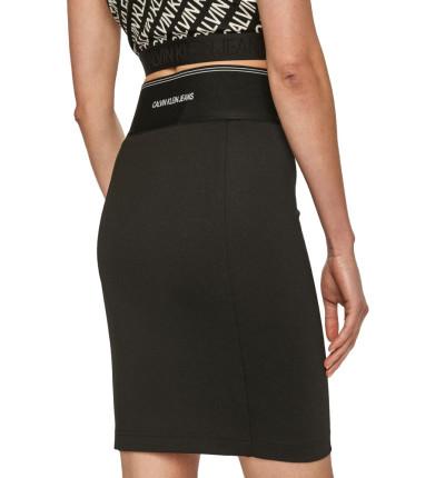 Falda Casual_Mujer_CALVIN KLEIN Milano Bodycon Elastic Skirt
