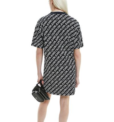Vestido Casual_Mujer_CALVIN KLEIN Aop T-shirt Dress