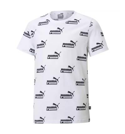 Camiseta M/c Casual_Niño_PUMA Amplified Aop Tee B