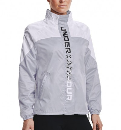 Chaqueta Fitness_Mujer_UNDER ARMOUR Recover Woven Shine Fz Jkt