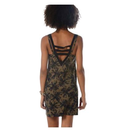 Vestido BANANA MOON Robe Beachwear Yukis Blackpalm