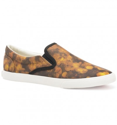 Slip On Casual_Mujer_BUCKETFEET Gold Focus