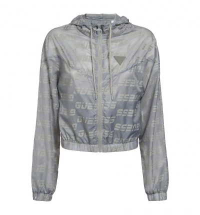 Chaqueta Casual_Mujer_GUESS Packable Hooded Sport Jkt