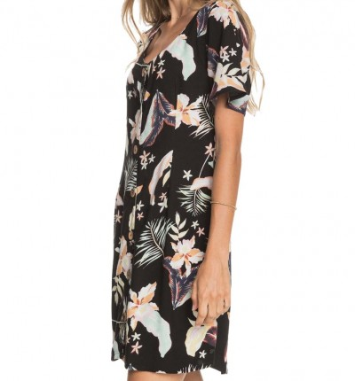 Vestido Casual_Mujer_ROXY All Eyes On Love Printed