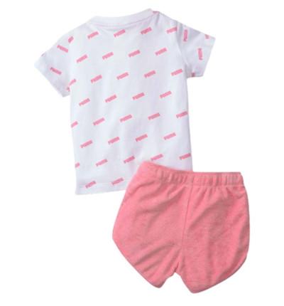 Conjunto - Short & Shirt Casual_Bebe_PUMA Minicats Prime Set