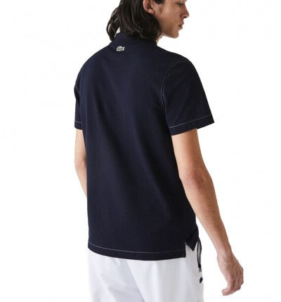 Polo Casual_Hombre_LACOSTE Chemise Col Bord-cotes Manches