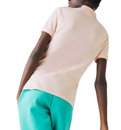 Polo Casual_Mujer_LACOSTE Chemise Col Bord-cotes Manches
