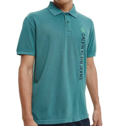 Polo Casual_Hombre_CALVIN KLEIN Washed Instit Polo