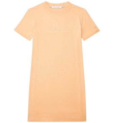 Vestido Casual_Mujer_CALVIN KLEIN Archives Eco Dye T-shirt Dress