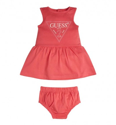 Conjunto - Short & Shirt Casual_Bebe_GUESS Setsleveless Dress W/pantie Co