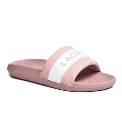 Chanclas Baño_Mujer_LACOSTE Croco Slide