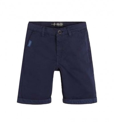 Short Casual_Niño_GUESS Satin Chino Shorts Core