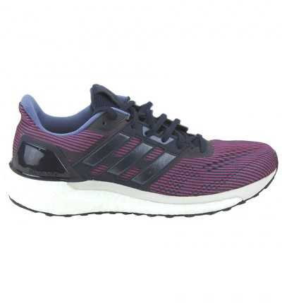 Zapatillas Running Adidas Supernova W 40 Rojo