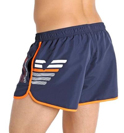 Bañador Baño_Hombre_ARMANI EA7 Sea World Bw Eagle M Shorts