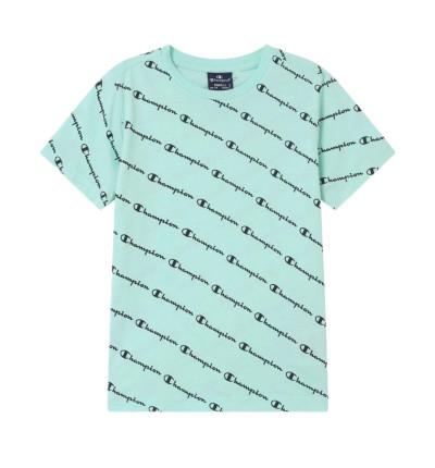 Camiseta M/c Casual_Niño_CHAMPION Camiseta Cuello Caja