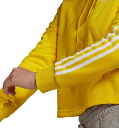 Hoodie Sudadera Capucha Fitness_Mujer_ADIDAS Essentials Crop Hoodie