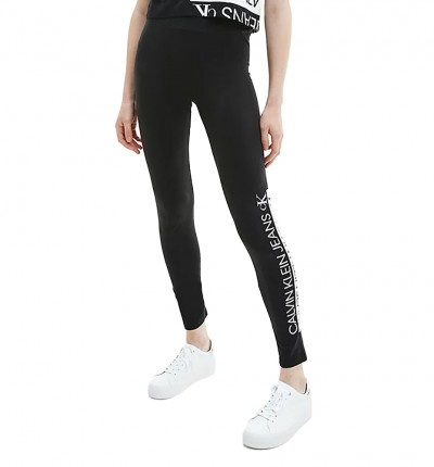 Mallas Largas Casual_Mujer_CALVIN KLEIN Mirrored Logo Legging