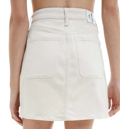 Falda Casual_Mujer_CALVIN KLEIN High Rise Mini Skirt
