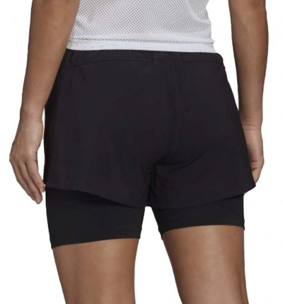 Short Fitness_Mujer_ADIDAS W 2in1 Sho
