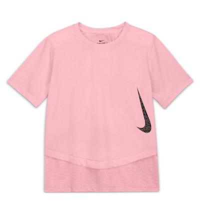 Camiseta M/c Fitness_Niña_Nike Breathe Instacool