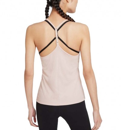 Camiseta De Tirantes Fitness_Mujer_Nike Femme Elastika