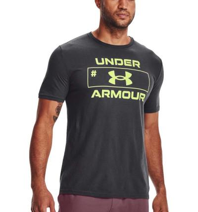 Camiseta M/c Fitness_Hombre_UNDER ARMOUR Ua Number Script Ss
