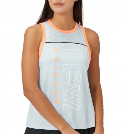 Camiseta De Tirantes Running_Mujer_NEW BALANCE Printed Fast Flight Tank