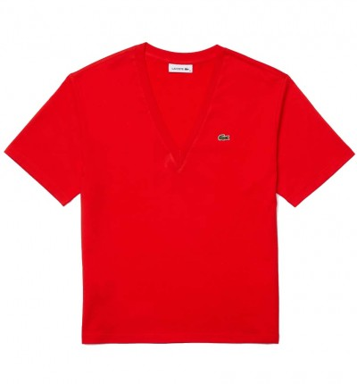 Camiseta M/c Casual_Mujer_LACOSTE Tee-shirt