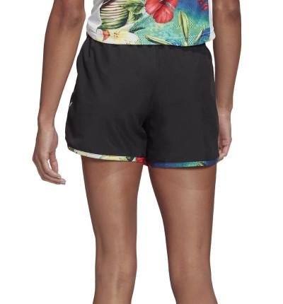 Pantalones Cortos Running_Mujer_ADIDAS Floral Marathon 20 floral