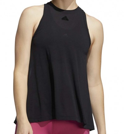 Camiseta Sin Mangas Fitness_Mujer_ADIDAS Dance Tank