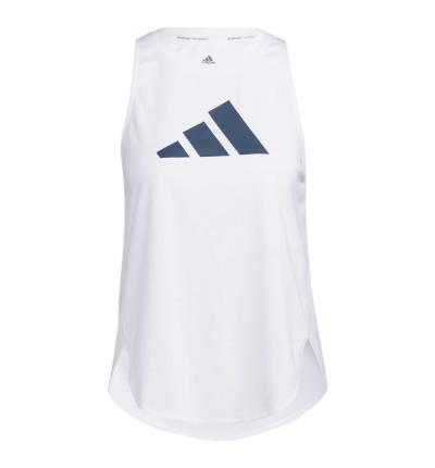 Camiseta Sin Mangas Fitness_Mujer_ADIDAS Bos Logo Tank