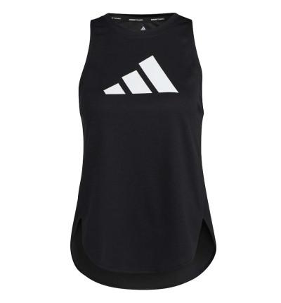 Camiseta Sin Mangas Fitness_Mujer_ADIDAS 3 Bar Logo