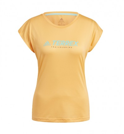 Camiseta M/c Trail_Mujer_ADIDAS W Trail Logo T