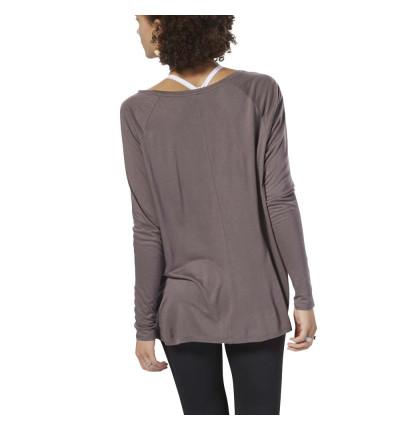 Camiseta M/l Casual REEBOK Ts Long Sleeve Tee Almgre