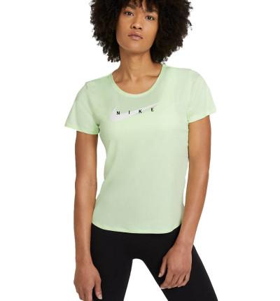 Camiseta M/c Running_Mujer_Nike Swoosh Run