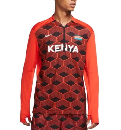 Camiseta M/l Running_Hombre_NIKE M Nk Kenya Element Top Hz