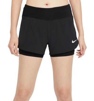 Pantalones Short con Mallas Cortas de Running_Mujer_Nike Eclipse 2 en 1