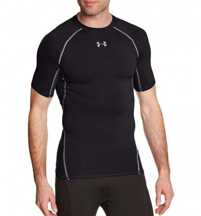 Camiseta Compresión Fitness_Hombre_UNDER ARMOUR Ua Hg Armour Ss