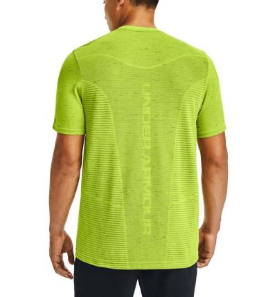Camiseta M/c Fitness_Hombre_UNDER ARMOUR Seamless Logo Ss
