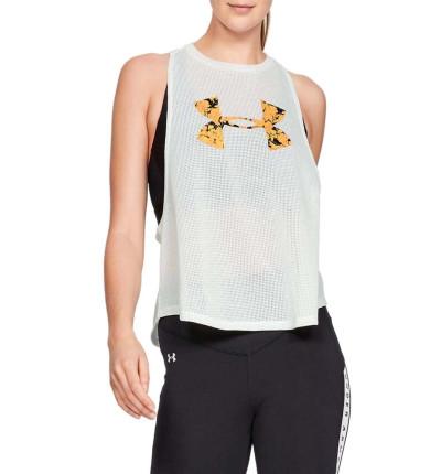Camiseta Sin Mangas Fitness_Mujer_UNDER ARMOUR Mesh Around Tank